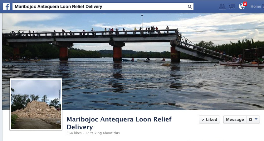 Social Media Helps in Bohol Earthquake Relief Operations