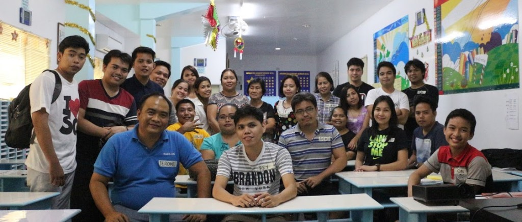 The Auza.Net, Kumon K of C and St. Gerald's staff during their joint team building session on December 11-12, 2015 at the Kumon K of C.
